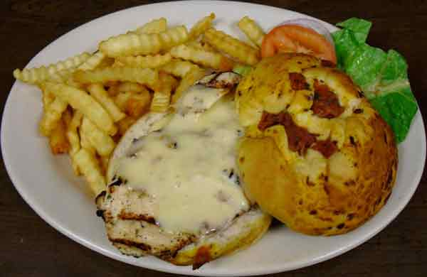 Grilled Chicken Swiss Sandwich
