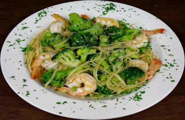 Linguine, Broccoli, Shrimp