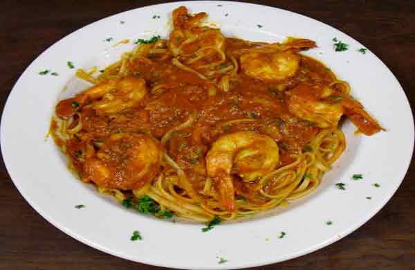 Shrimp Diavalo