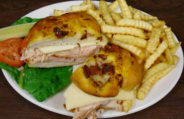 Turkey Swiss Sandwich
