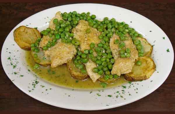 Boneless Chicken Vesuvio