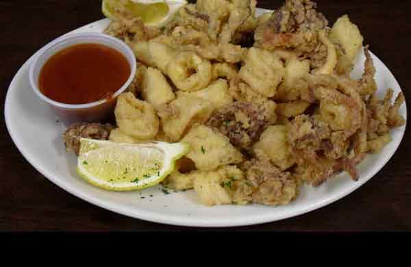 Fried Calamari 1/2 Order