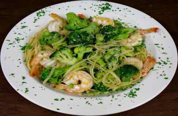 Linguine, Broccoli, Shrimp