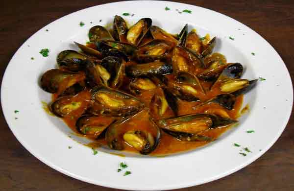 Mussels Appetizer - Red