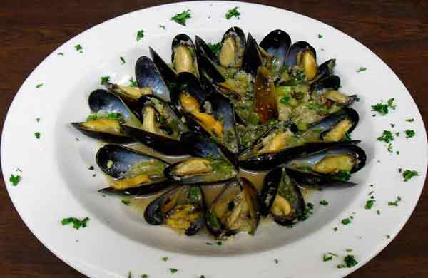 Mussels Appetizer - White