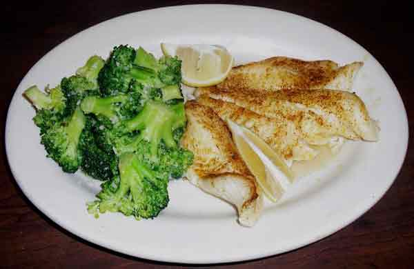 Broiled Whitefish