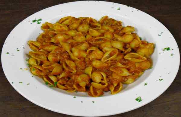 Shells & Bolognese